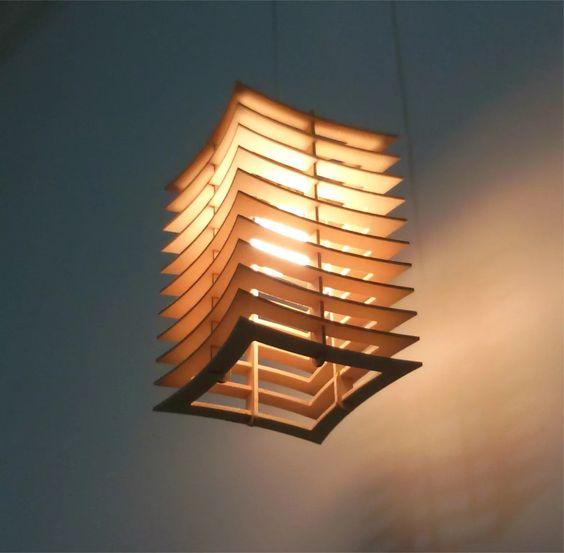 Đèn gỗ DIY 0464