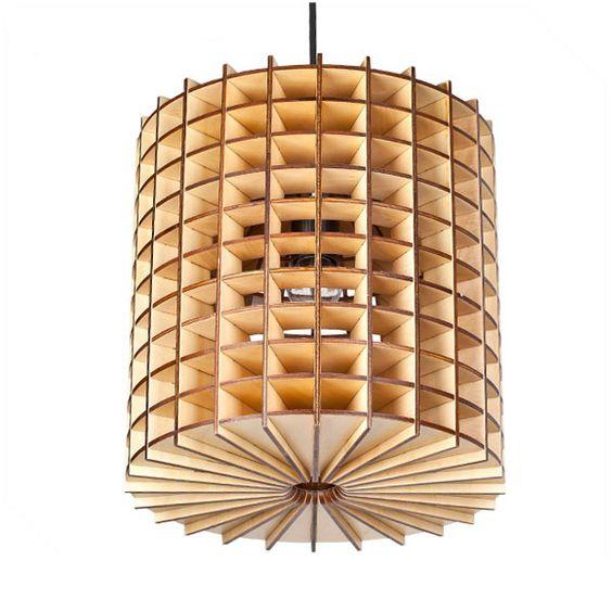 Đèn gỗ DIY 0473