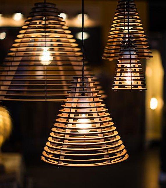 Đèn gỗ DIY 0506