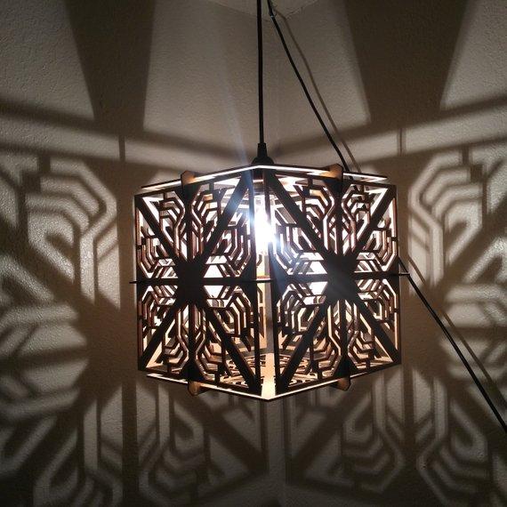 Đèn gỗ DIY 0506.1