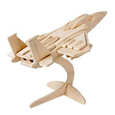 F 22  wooden 3d puzzle