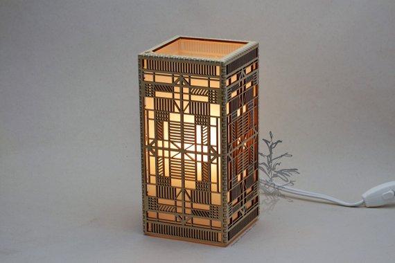 Đèn gỗ DIY 0932
