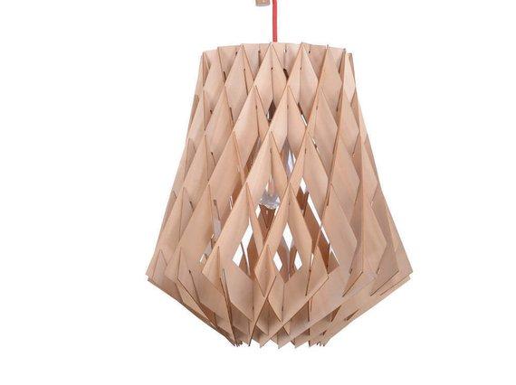 Đèn gỗ DIY 0934