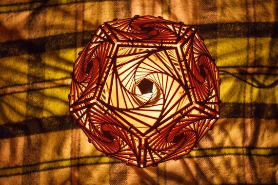 Đèn gỗ DIY 0970