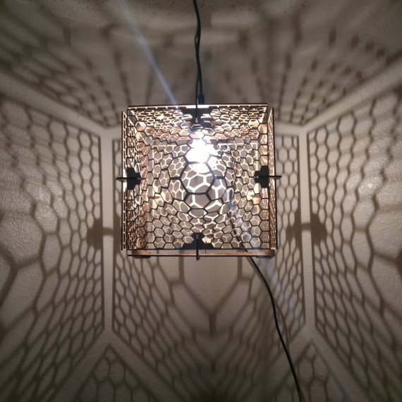 Đèn gỗ DIY 0974