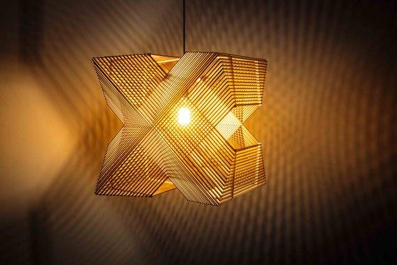 Đèn gỗ DIY 0996