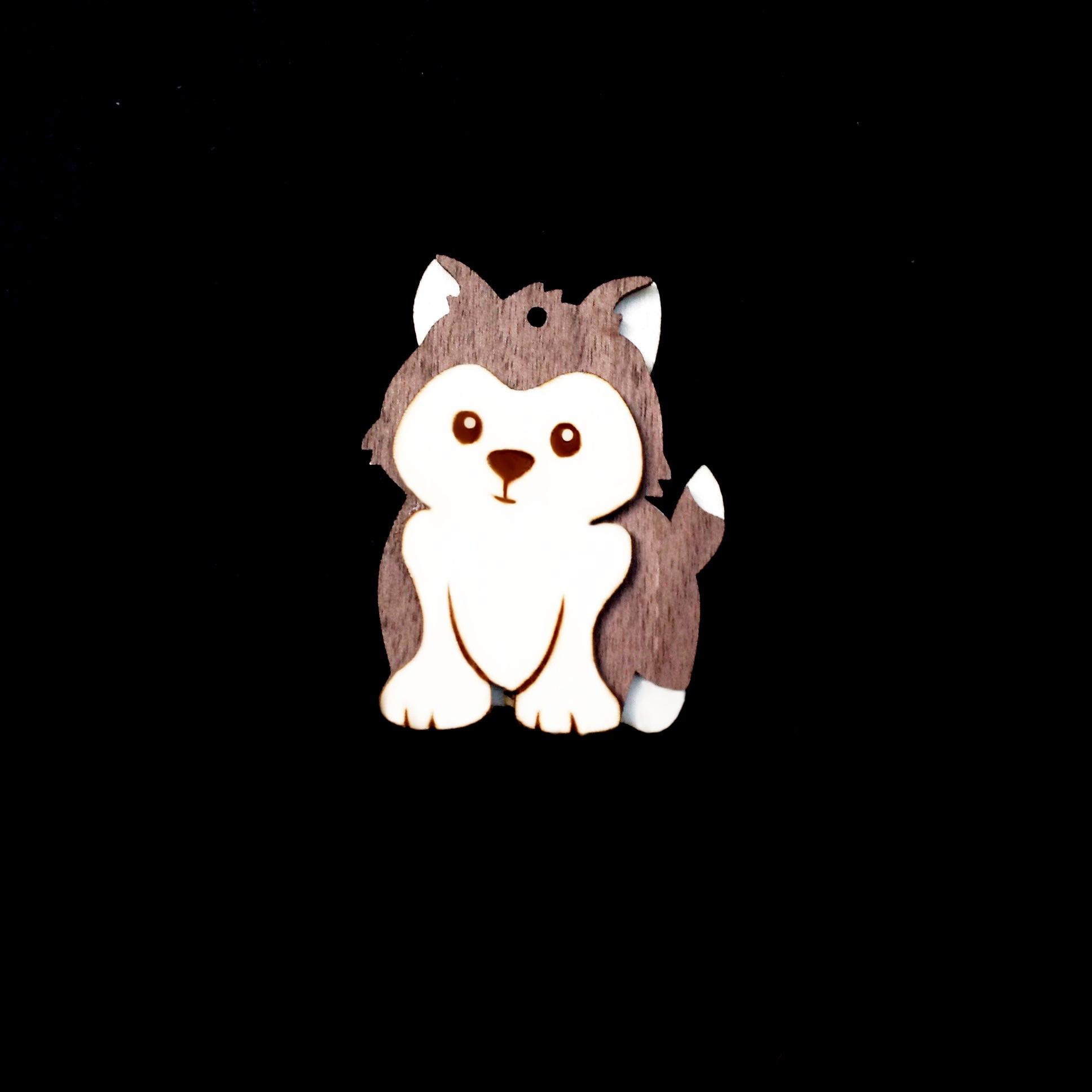 móc khóa con chó