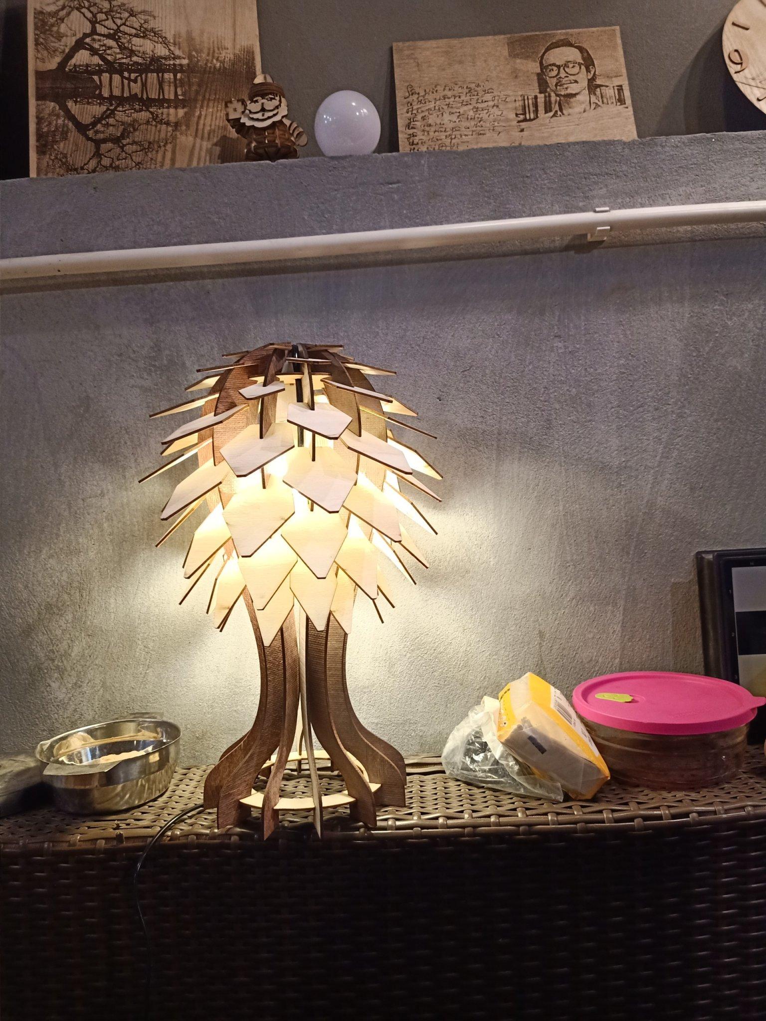 Đèn cây DIY  146