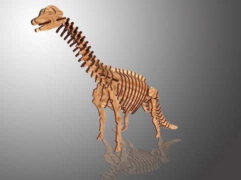 3d Dinazor_Brachıosaurus 