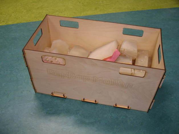 4mm plywood crate display