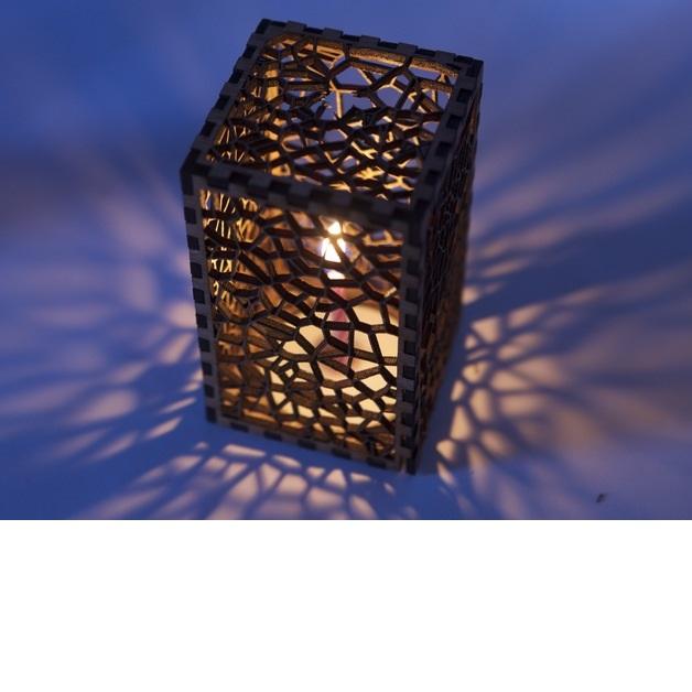 hộp đèn nến sáp
