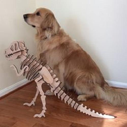 Con khủng long 50cm 3d puzzle