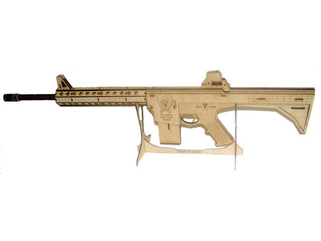 AR-15 Rifle Kit - Zombie Hunter 