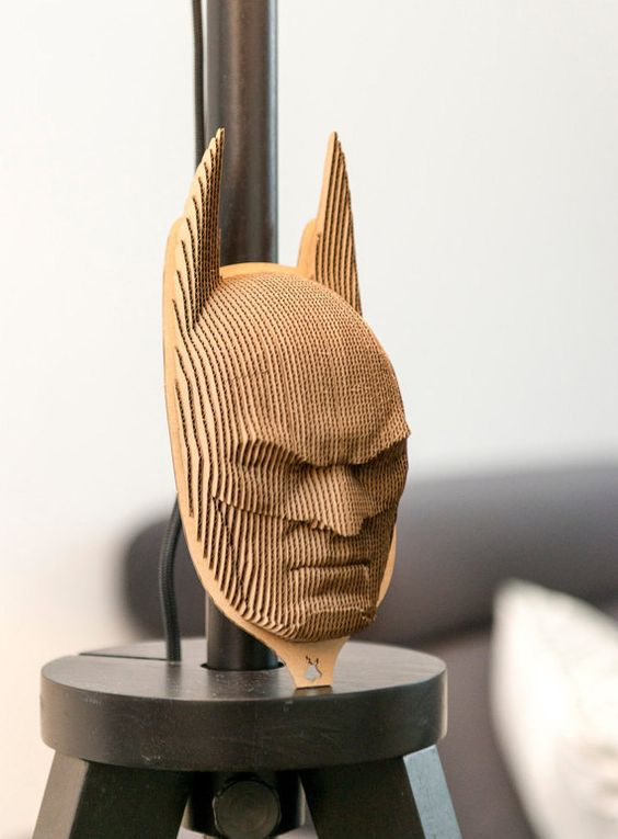 Batman 3d puzzle  cut wood diy wooden akz.vn