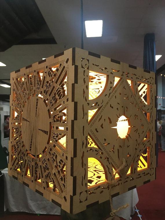 Hellraiser Lament Cube Hanging Lantern
