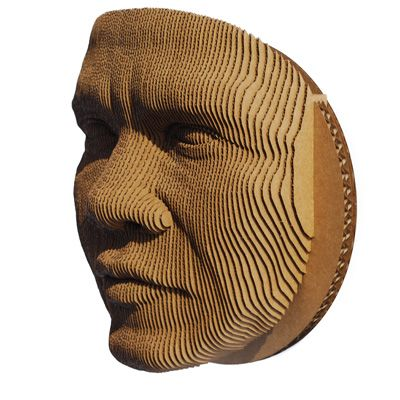 Human silent  3d puzzle  cut wood diy wooden