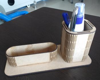 Laser Cut Pen-Card Holder ​