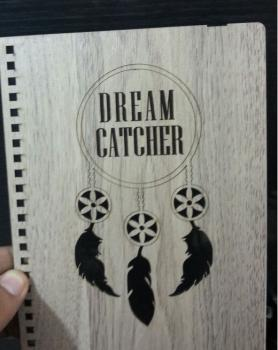 Notebook Cover Dream Catcher ​