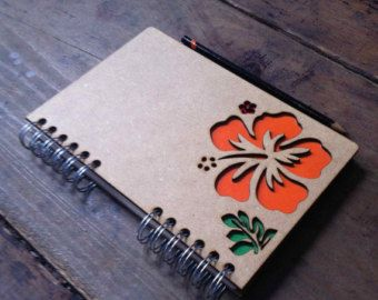 Notebook Cover Flower
