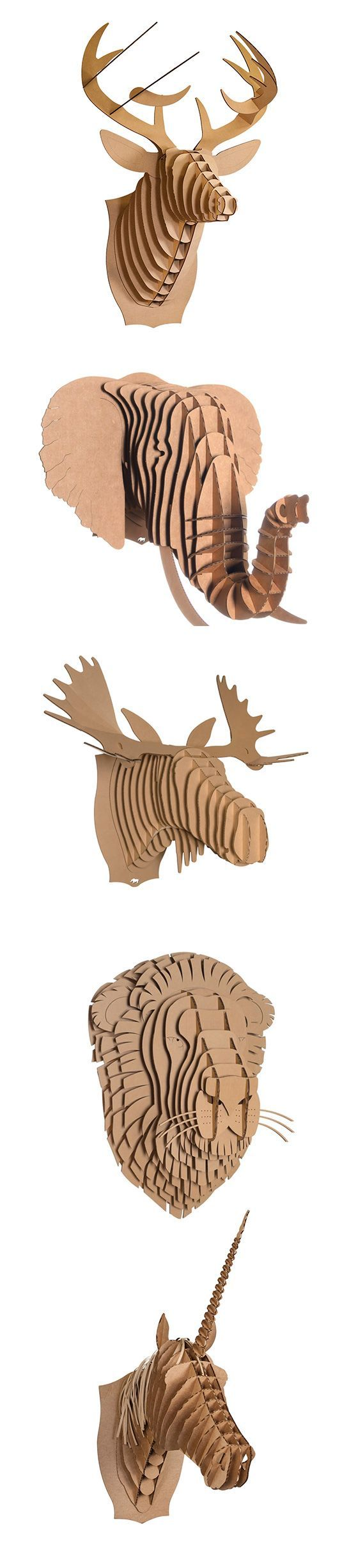 head animal   diy 3d puzzle