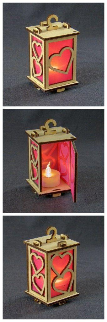 candles laser cut 007