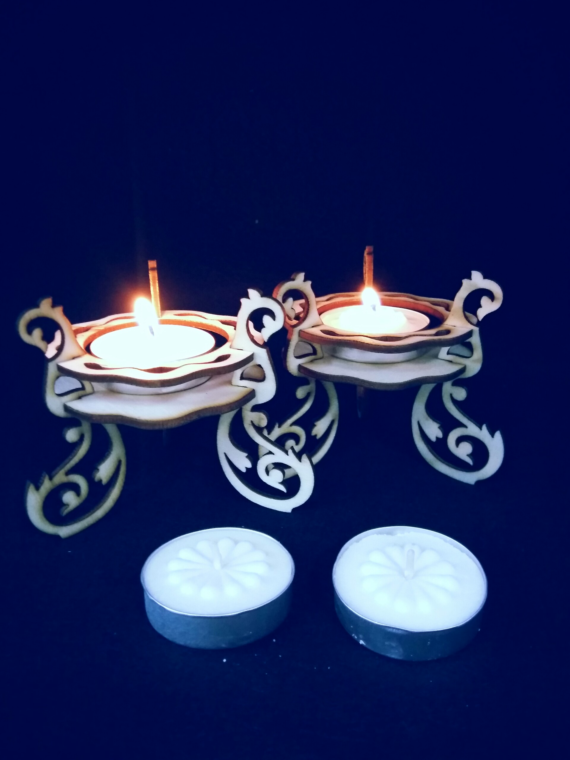 candles laser cut 020