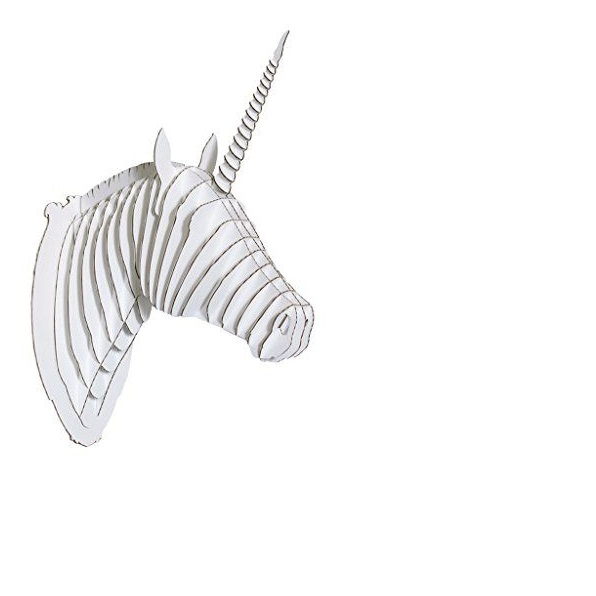 head Unicorn  animal 3d puzzle