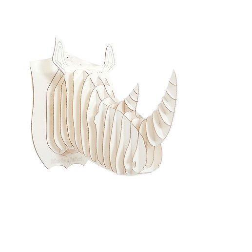 Head Rhino 3d puzzle