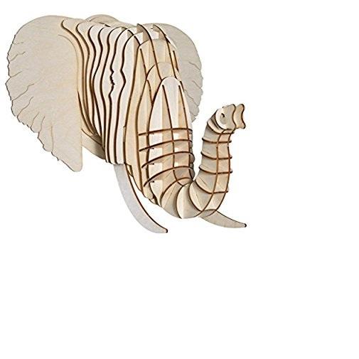 Head Elephan  3d puzzle