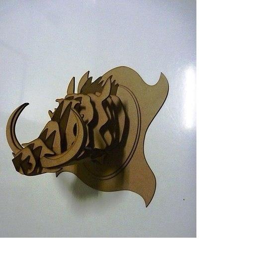 head  Boar's 3d puzzle