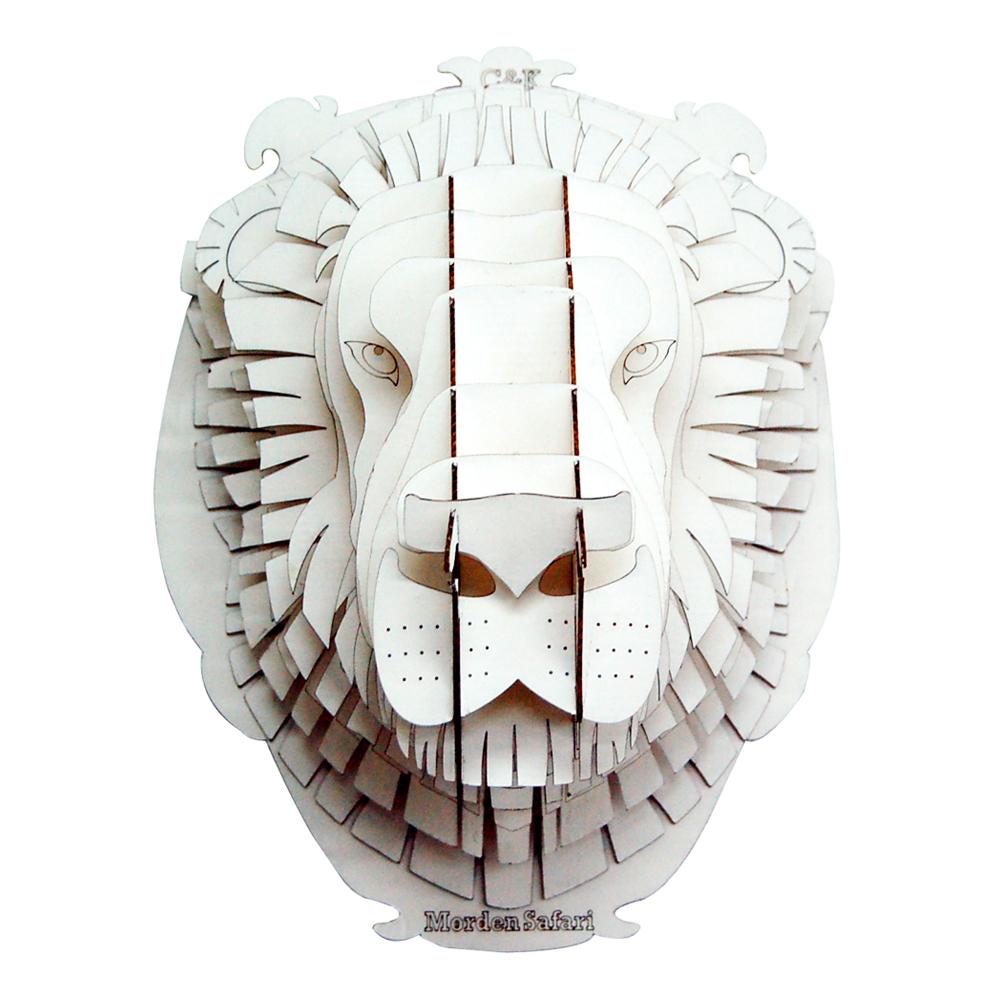 head Lion  3d puzzle
