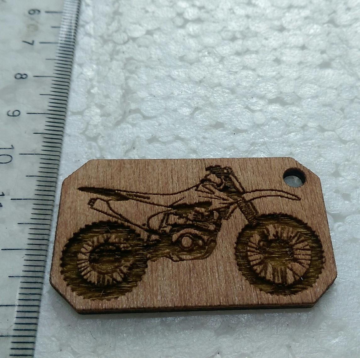 Móc khóa khắc hình Honda CRF