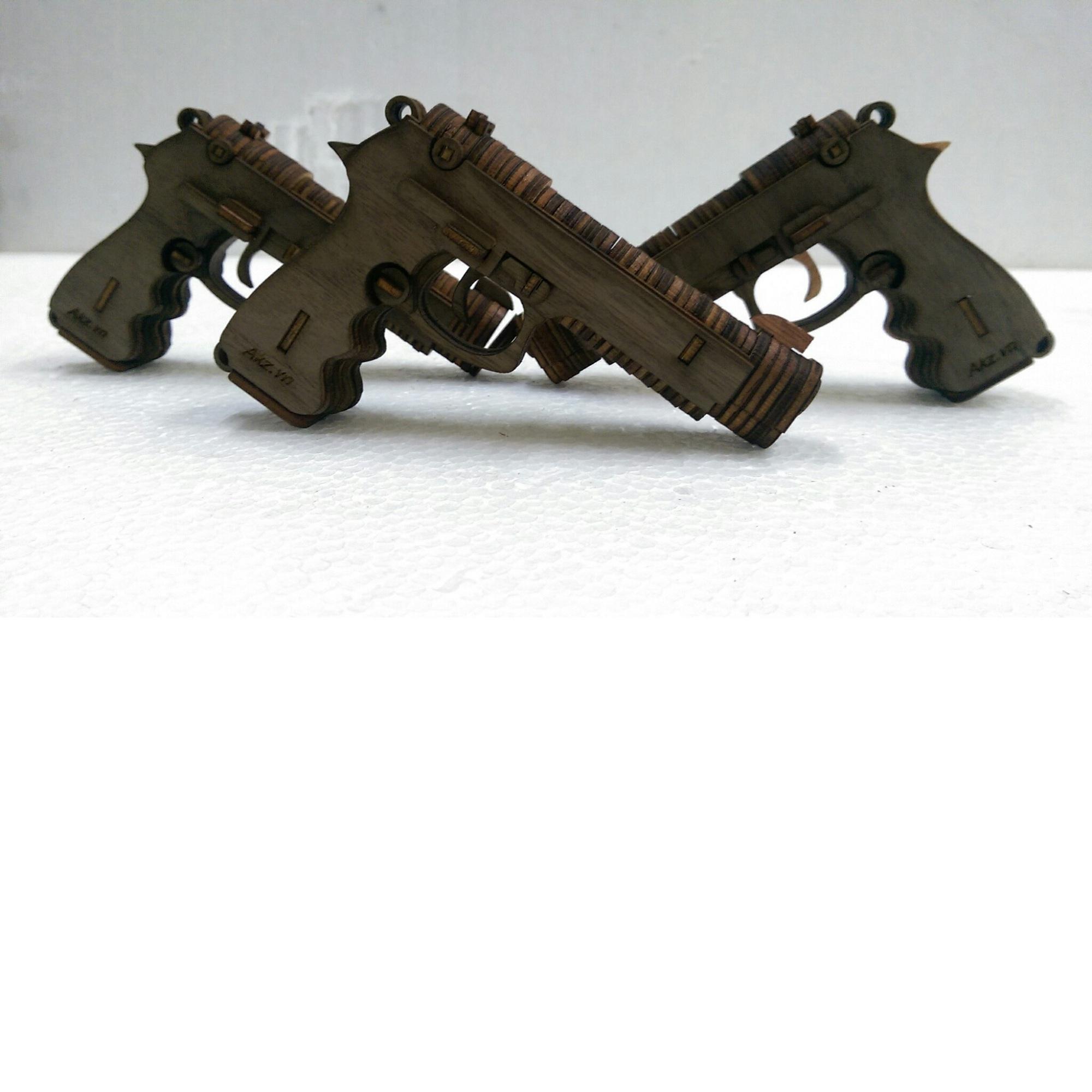 Ghép gỗ súng lục