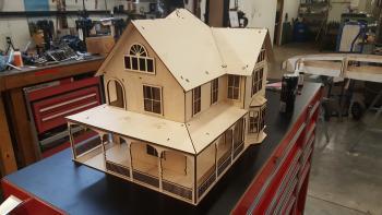 Villa   wooden 3d puzzle