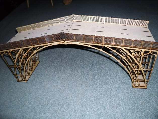 Ion Brige DIy  wooden 3d puzzle